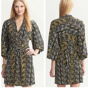 Banana Republic Issa Collection London Zebra Dress